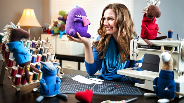 Made In Greensboro: Jenny Maj, 31, Plush Designer