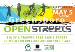 First Friday on the Block: Open Streets @ Davie Street | Greensboro | North Carolina | United States