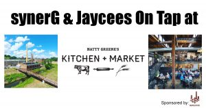 SynerG & Jaycees On Tap @ Natty Greene's Kitchen & Market | Greensboro | North Carolina | United States