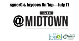 synerG & Jaycees On Tap @ 1618 Midtown | Greensboro | North Carolina | United States
