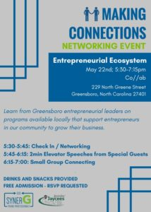 Entrepreneurial Ecosystem Making Connections @ co//ab | Greensboro | North Carolina | United States