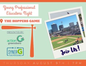 YP Educator Night at the Hoppers @ Greensboro Grasshoppers | Greensboro | North Carolina | United States