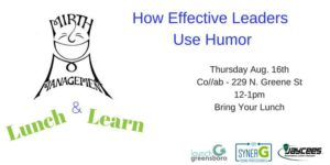 Humor and Leadership Lunch & Learn @ Co//ab | Greensboro | North Carolina | United States